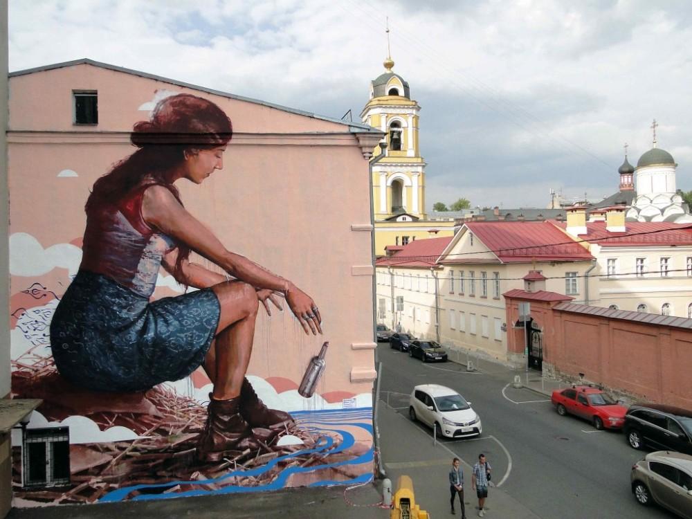 Fintan Magee Mural