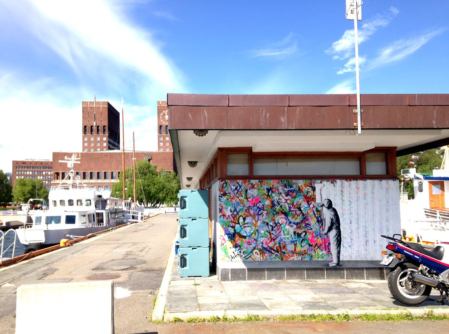 Martin Whatson All White Oslo Norway