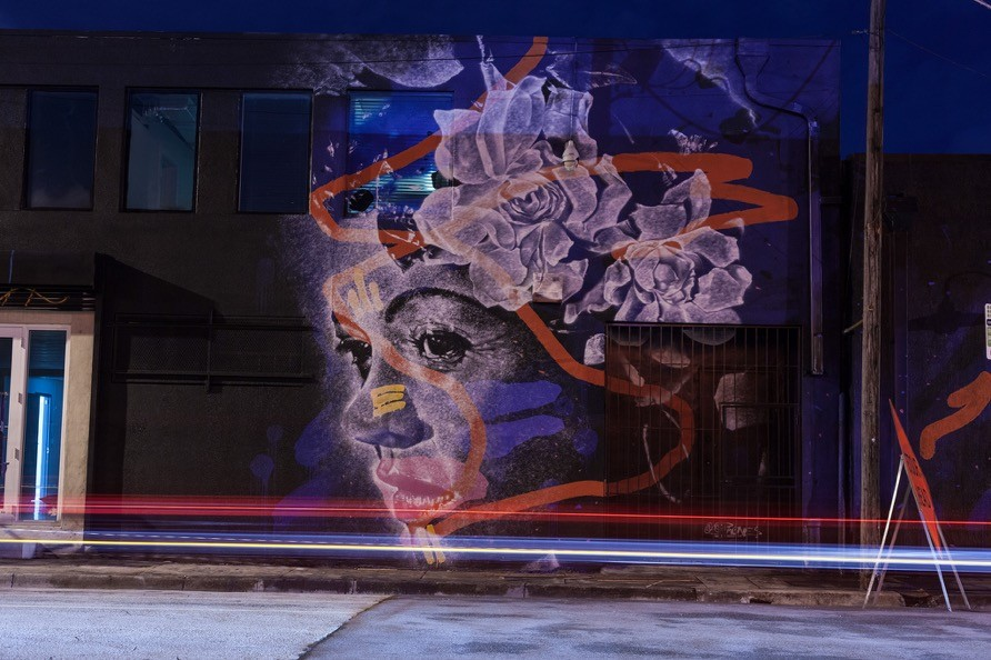 Meet askew one street art rat for Billie holiday mural