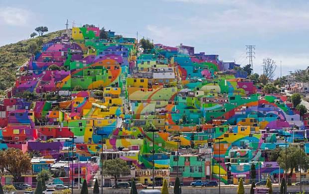 Germen Crew El Macro Mural Barrio de Palmitas
