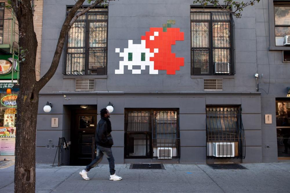 Invader NYC