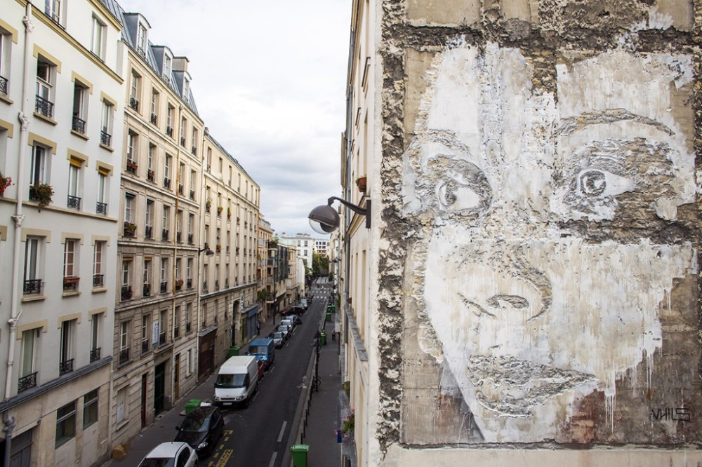 Vhils Paris France