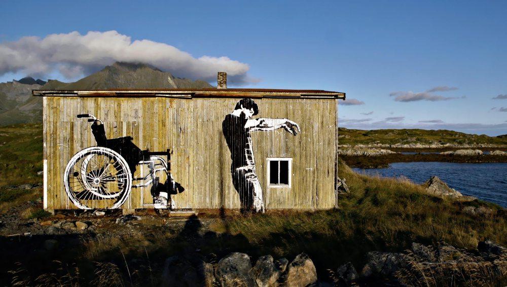 Dolk Lofoten stencil
