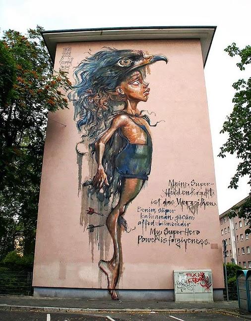Herakut Mannheim Germany