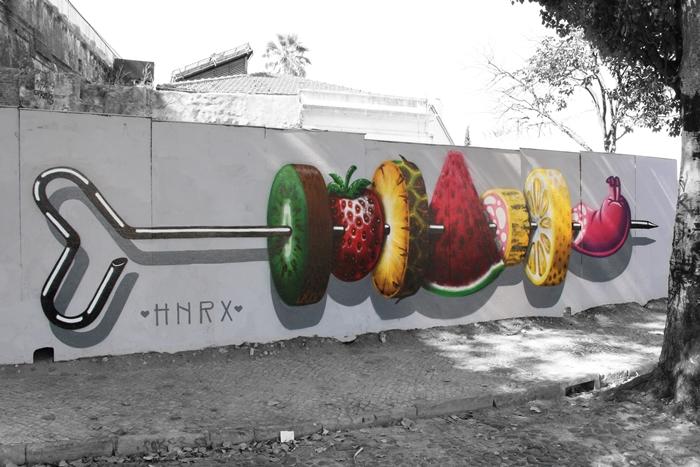 HNRX mural