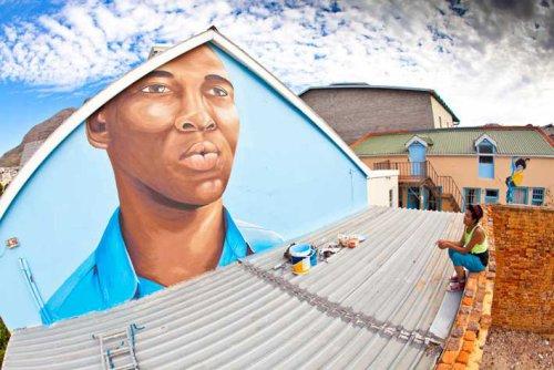 ~ By Indigo ~ Woodstock, Cape Town, South Africa - Photo: indigosadventures.wordpress.com