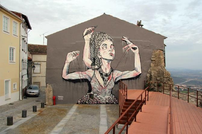 Tamara Alves Wild Orphan mural