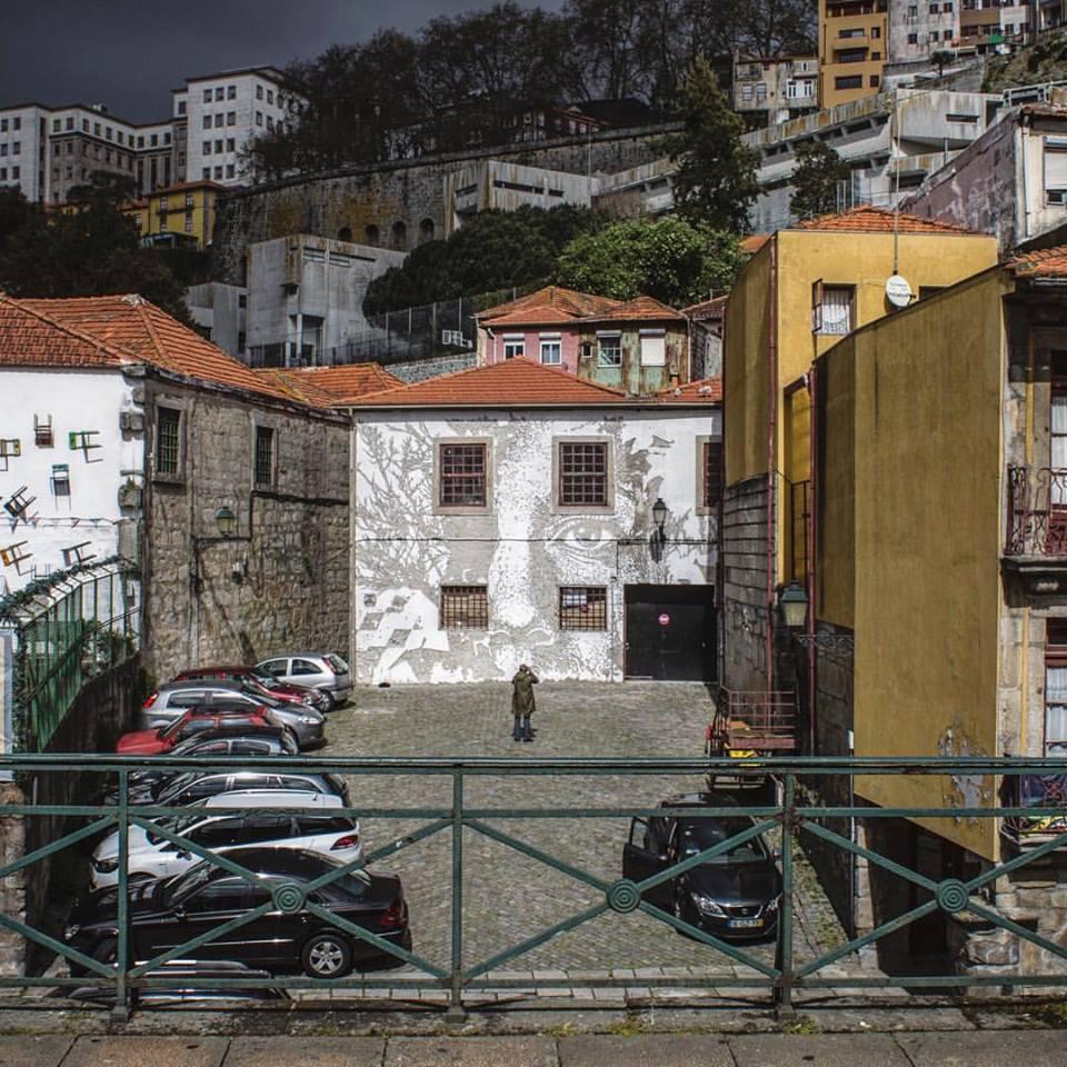Vhils Porto