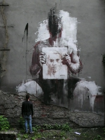 ~ By Borondo ~ Spain - Photo: streetartutopia.com