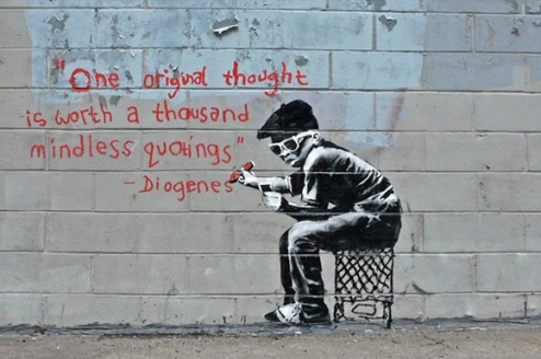 one-original-thought-worth-a-thousand-quotings-by-banksy