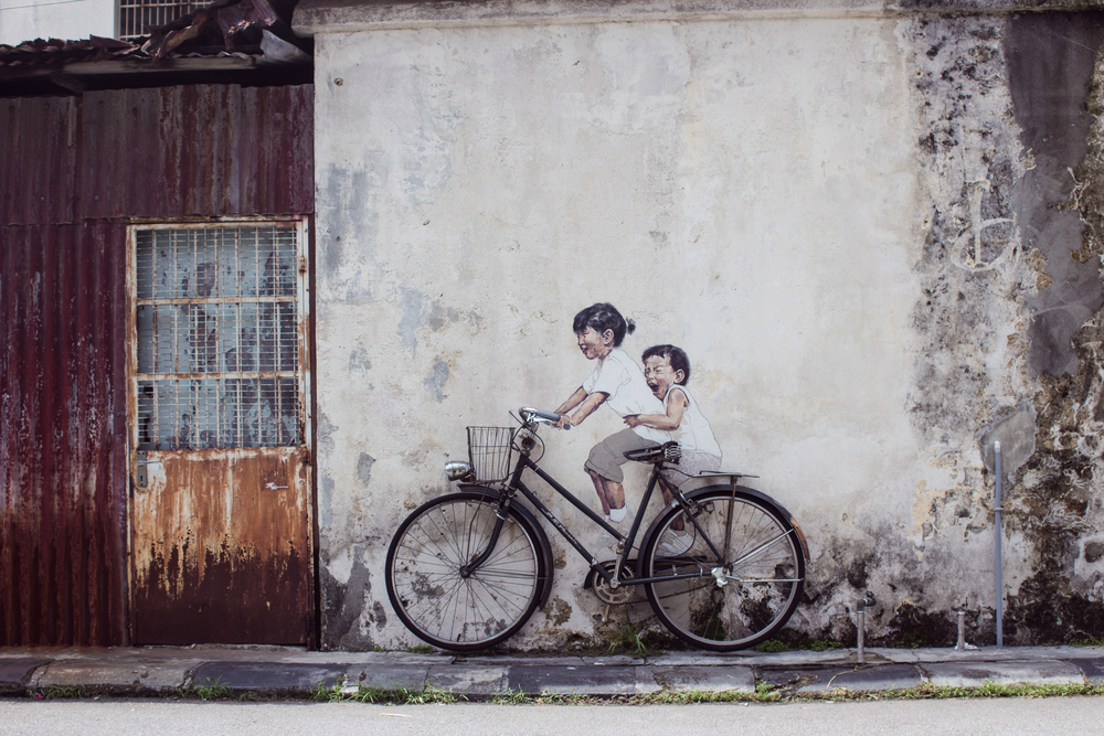 Ernest zacharevic penang art