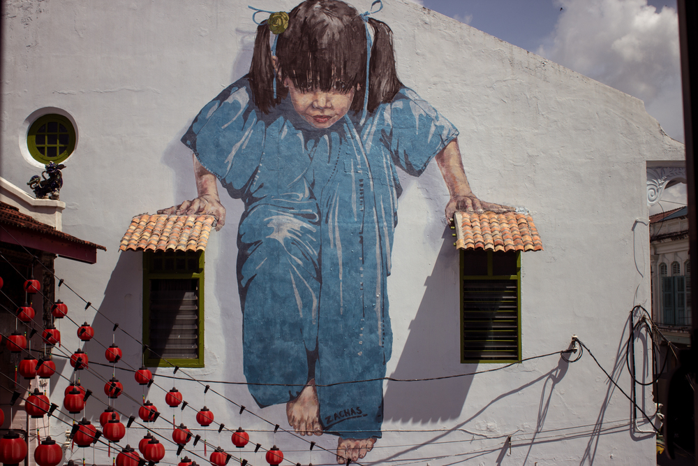 Ernest zacharevic penang george town